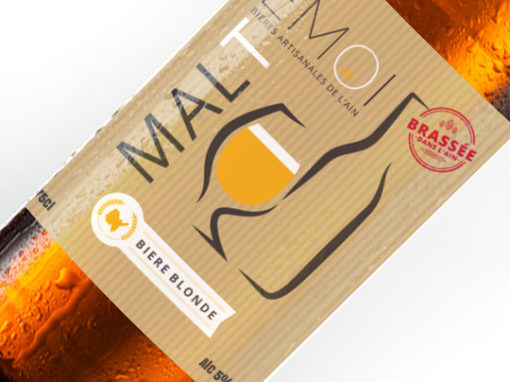 PACKAGING BOUTEILLE | MALT EMOI