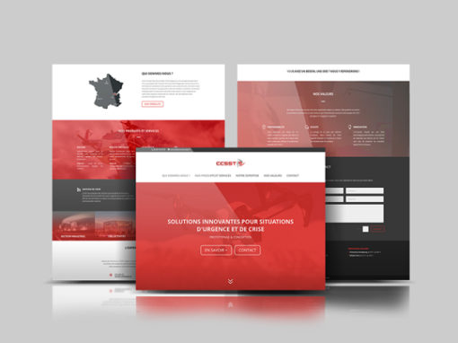 SITE WEB ONEPAGE | CCSST