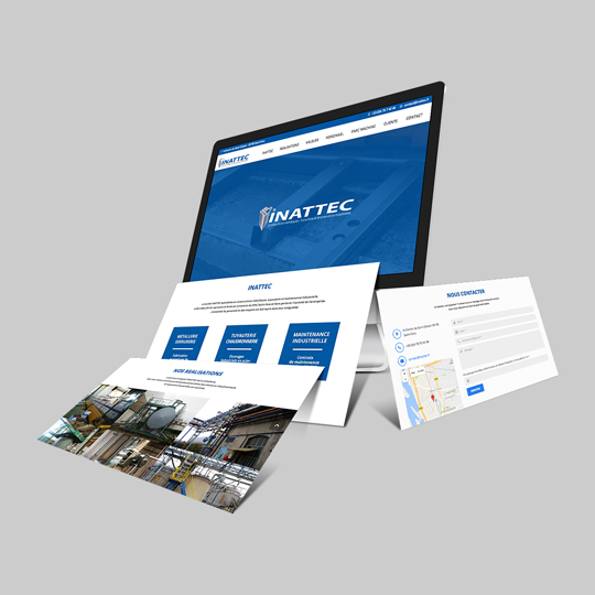 SITE WEB ONEPAGE | INATTEC
