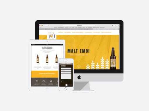 SITE WEB | MALT EMOI