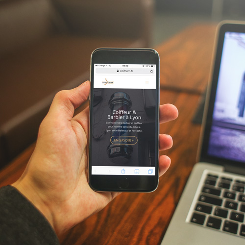 Création site internet mobile - lydz