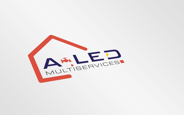 CREATION LOGO | A-LED MULTISERVICES